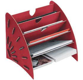 Mobiliario b sico para una oficina femenina oficina femenina - Organizador de papeles ...