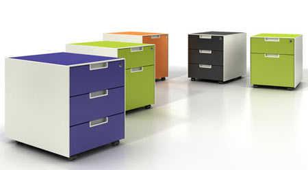 Muebles que no deben faltar en tu oficina oficina femenina - Cajoneras pequenas ...