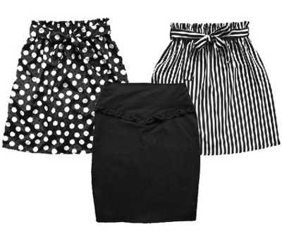 Corta o larga La falda ideal para lucir en el trabajo Oficina