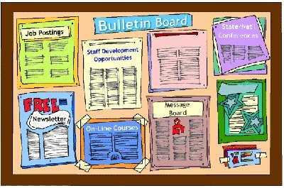 Tienes que actualizar el peri dico mural de tu oficina for Como elaborar un periodico mural escolar