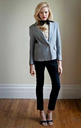 Modelos de traje sastre para lucir en la oficina  ed024151ea6d
