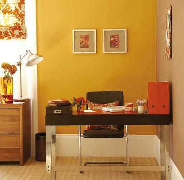 Decoraci n e ideas para mi hogar 9 oficinas muy femeninas for Combinacion de colores para oficinas modernas