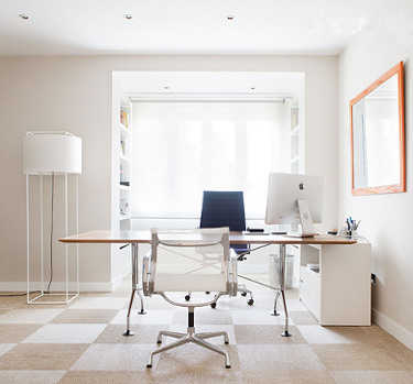 C mo lograr una oficina moderna oficina femenina for Iluminacion oficinas modernas