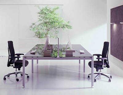 C mo lograr una oficina moderna oficina femenina for Distribucion oficinas pequenas