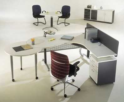 C mo lograr una oficina moderna oficina femenina for Muebles de oficina que es