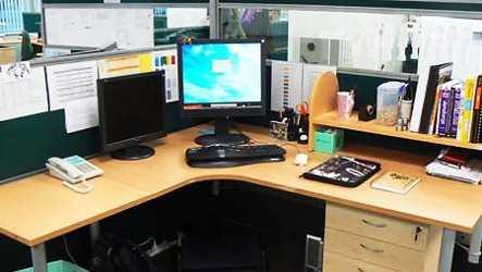 Tips para tener una oficina acogedora oficina femenina for Como decorar mi escritorio de trabajo