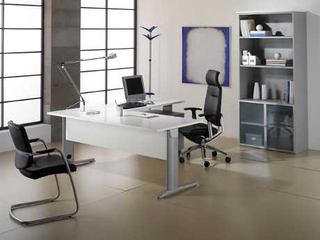 Oficina estilo minimalista anota los tips oficina for Despacho moderno en casa