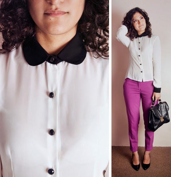 Súper Femenina Con Tus Blusas De Gasa En La Oficina