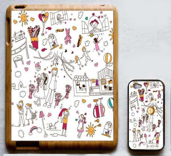 Funda para tablet y para celular ¡Del mismo diseño!