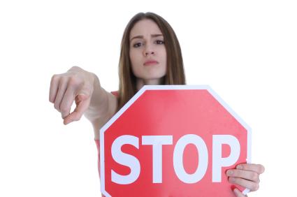 Woman-Stop